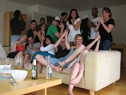 Žurka u malom stanu